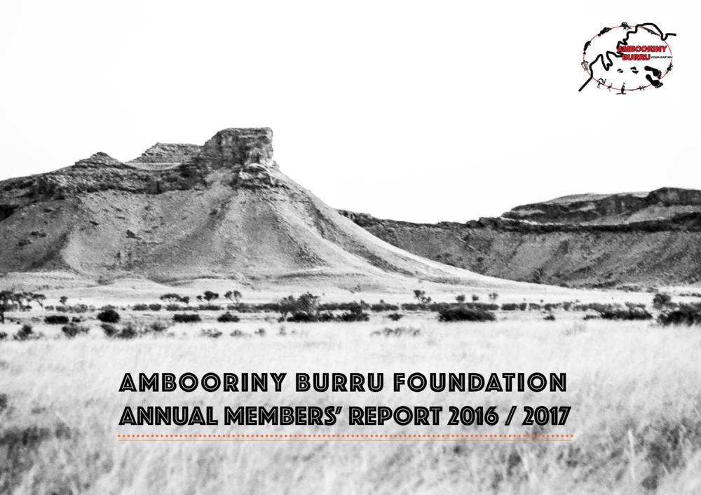 Ambooriny Burru Foundation and KRED Enterprises