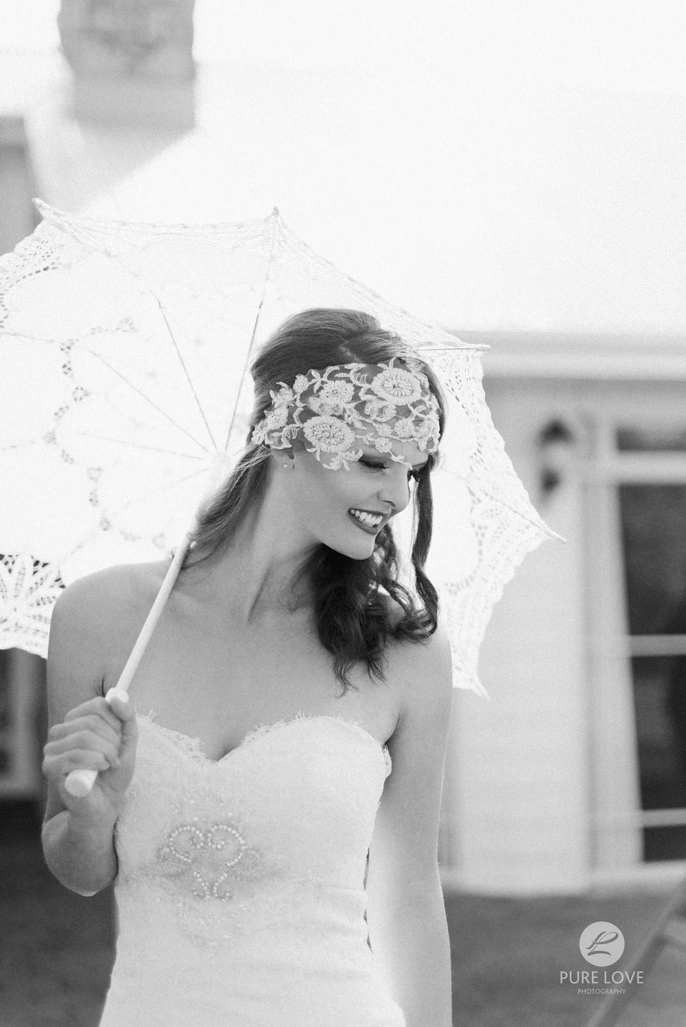 boho wedding style black and white