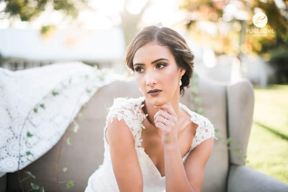 rotorua bridal portrait
