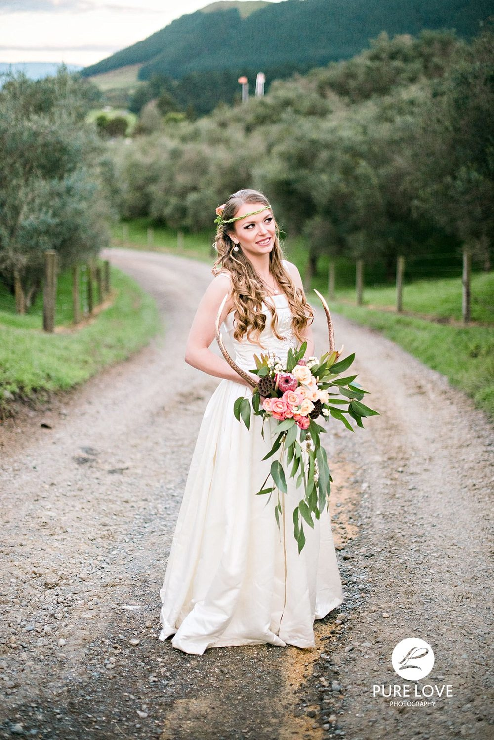 Beautiful bride at Agrodome Rotorua