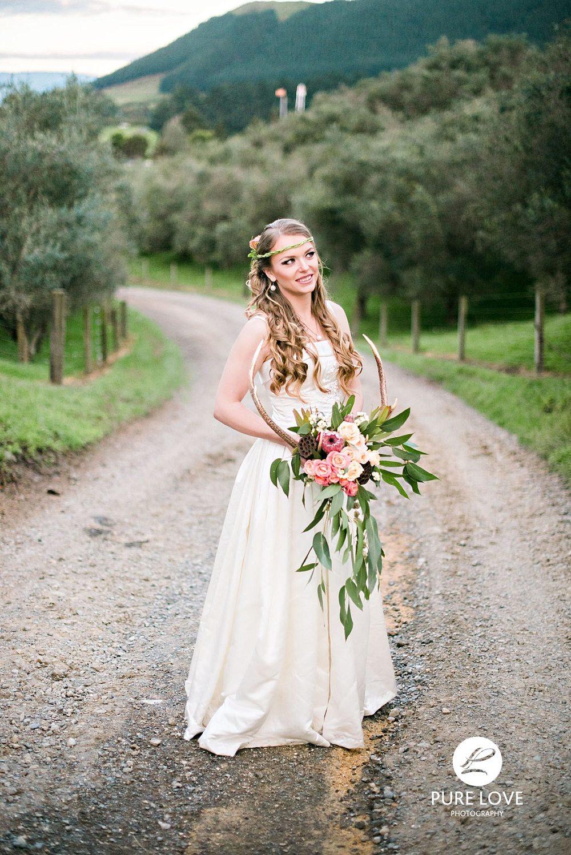 Beautiful bride at Agrodome Rotorua