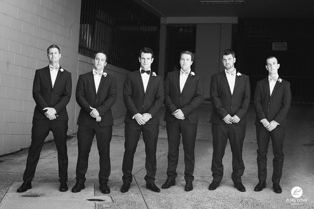Groom and his mates. Groomsmen. Cool groom and groomsmen