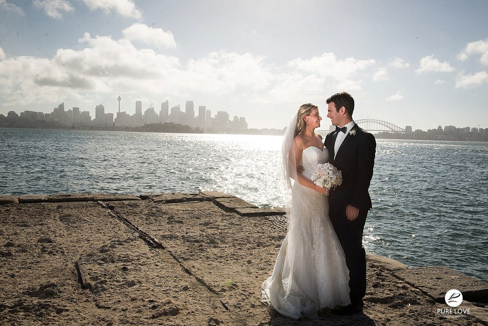 Bride and Groom. Amazing views. Destination wedding photography.
