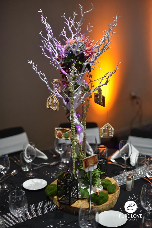 rotorua wedding floral arrangement