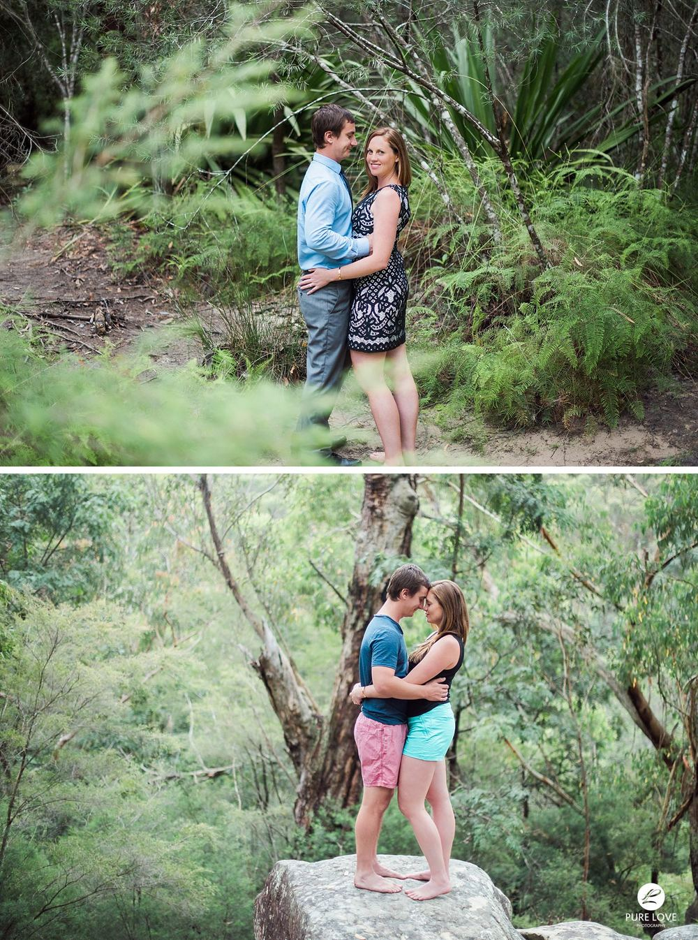 We always suggest bringing two different outfits for your Engagement Session: one dressy and one casual. This will give you more variety of photos from your photoshoot.
