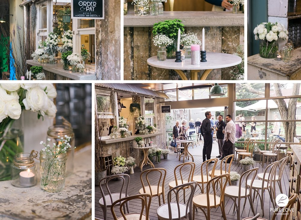 Rustic Ceremony and Rustic Reception