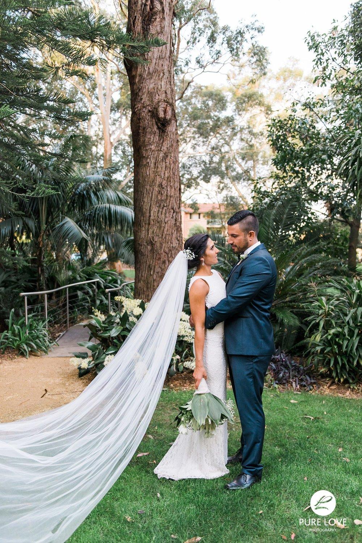 rotorua bride and groom