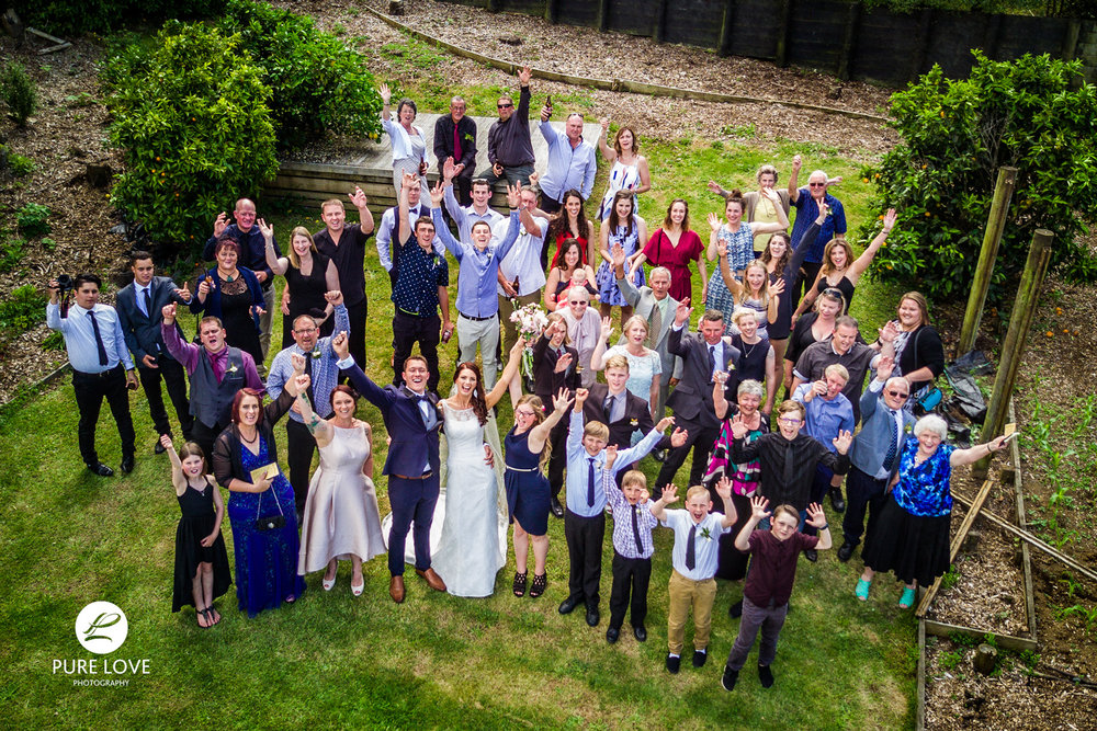 Aerial Wedding Photographer