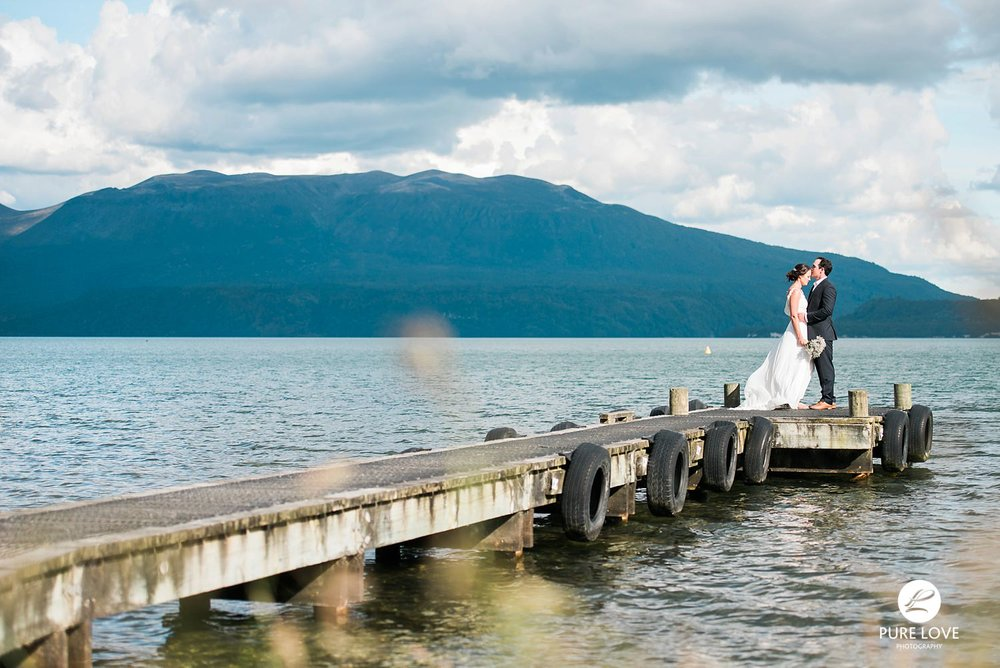 lake tarawera jetty