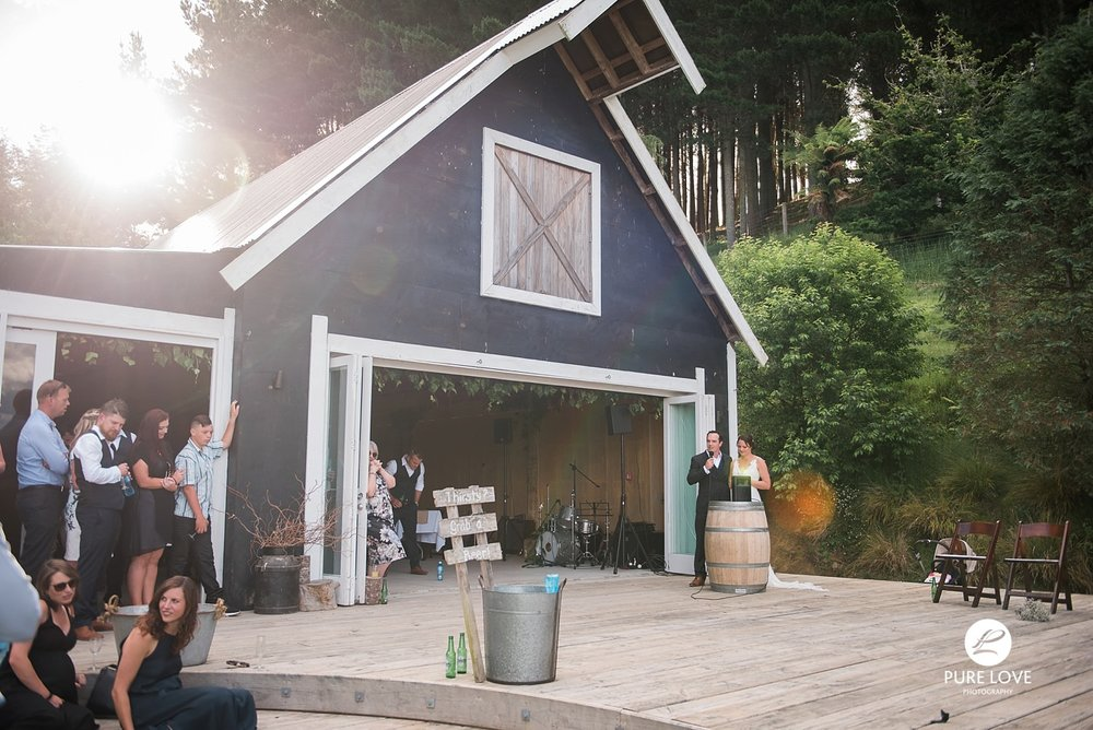 The black barn wedding
