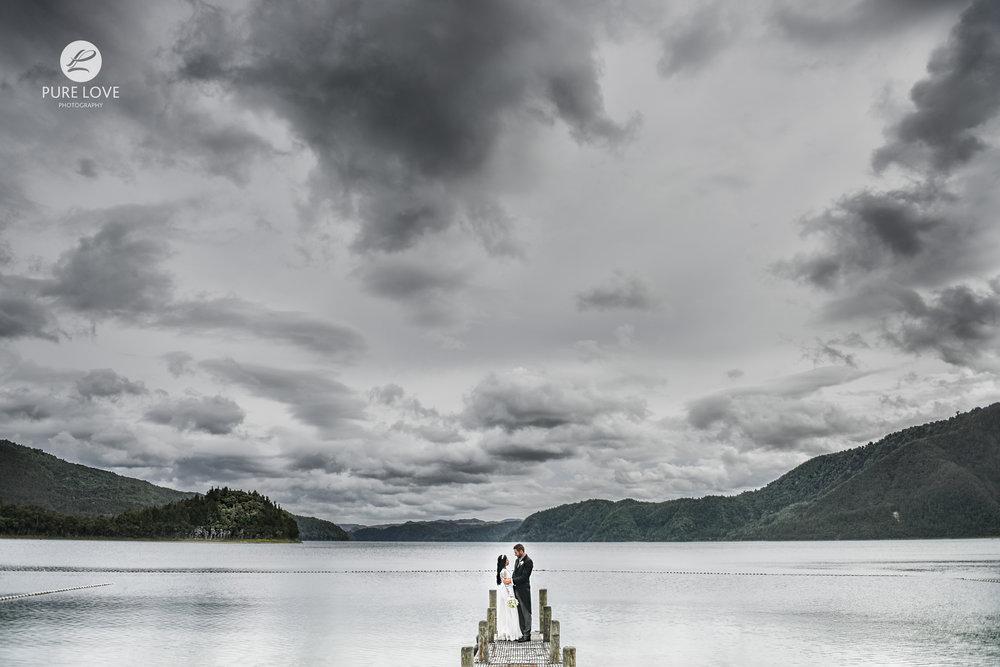lakes lodge lake okataina wedding