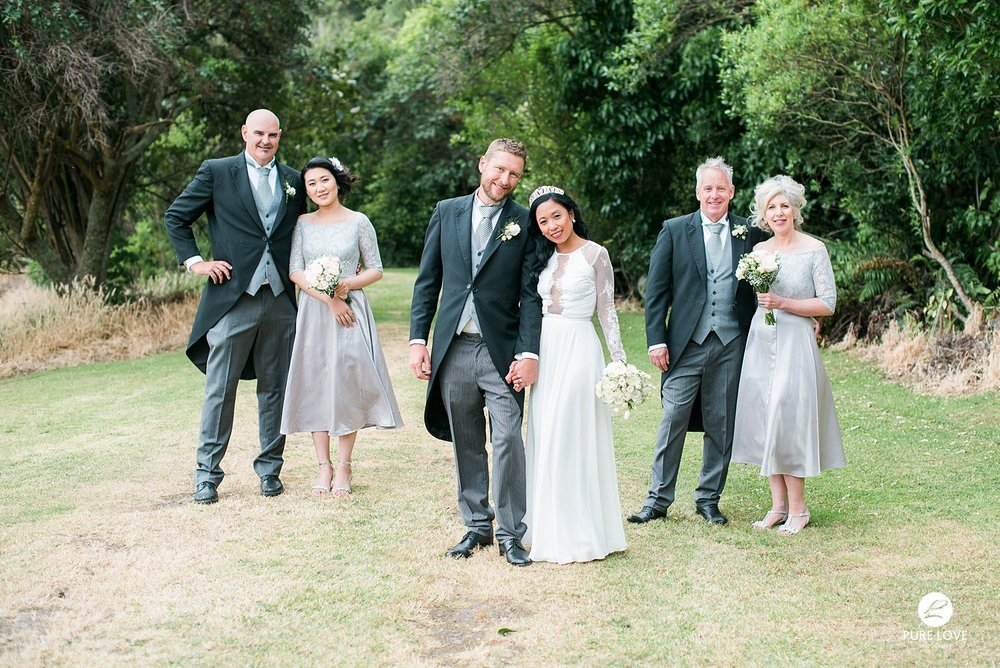bridal party wedding photo