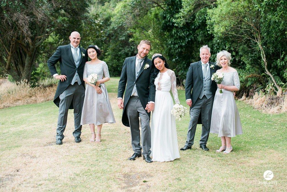 bridal party wedding photo