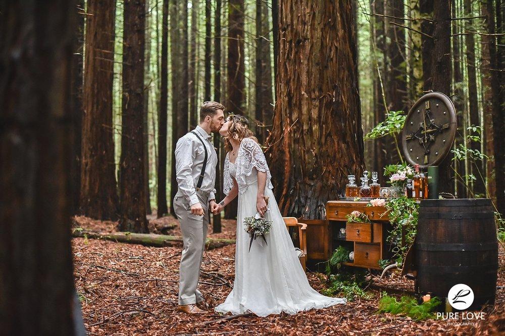 redwood forest wedding rotorua