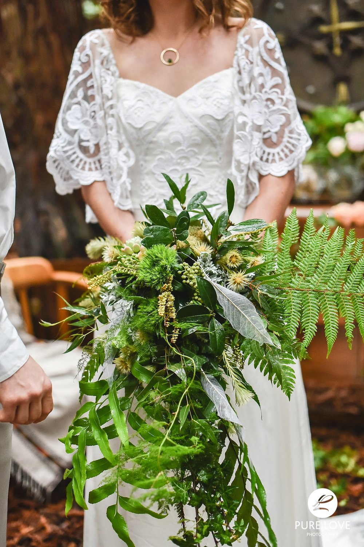 large vintage wedding flowers