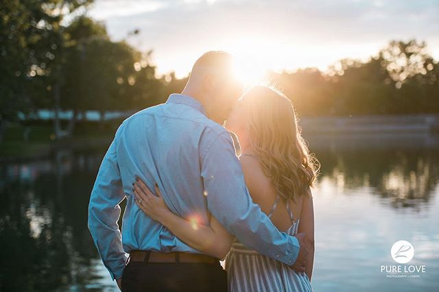 We LOVE Mary and Cameron's romantic engagement session at sunset. Beautiful couple and beautiful light! . . #sunsetengagementphotos #sunset #romanticengagementphotos #destinationweddingphotographer #laengagementphotographer #woodbridgeengagement #woodbridge #beautifulengagement #love
