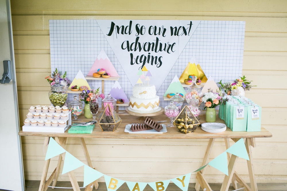 Fitz's Baby Shower {Event Styling}