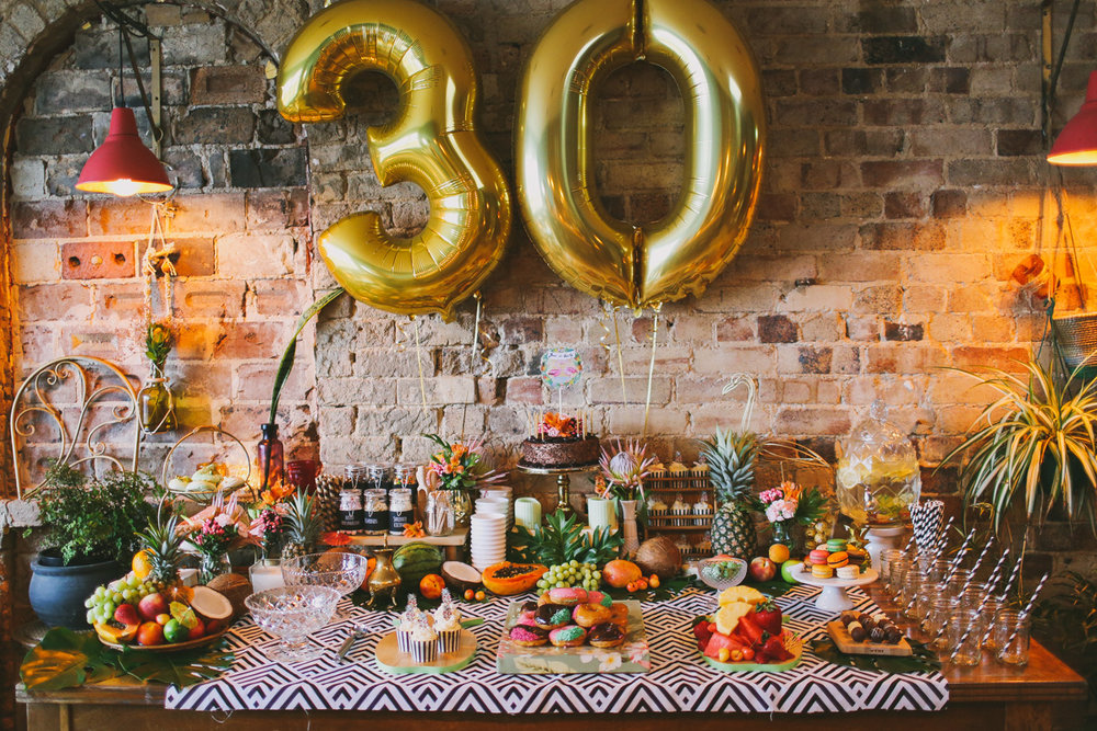 Joni's 30th Birthday {Event Styling}