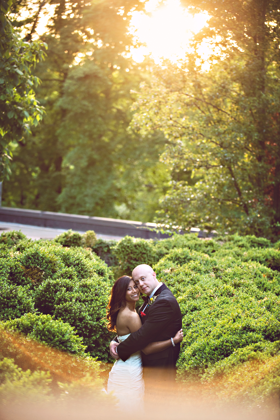 sunlit-garden-maze-wedding-portrait.jpg