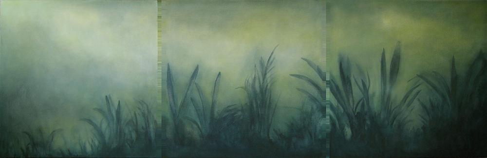sugarcane triptych, 2006