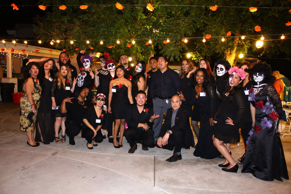 Noche En El Barrio 2016 Staff and Board Members