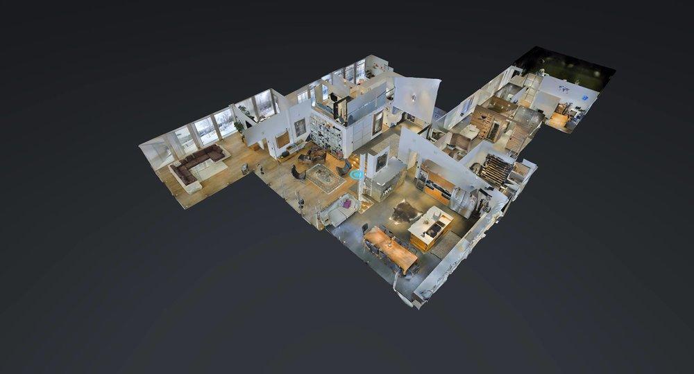 MATTERPORT 3D TOURS + FLOOR PLANS