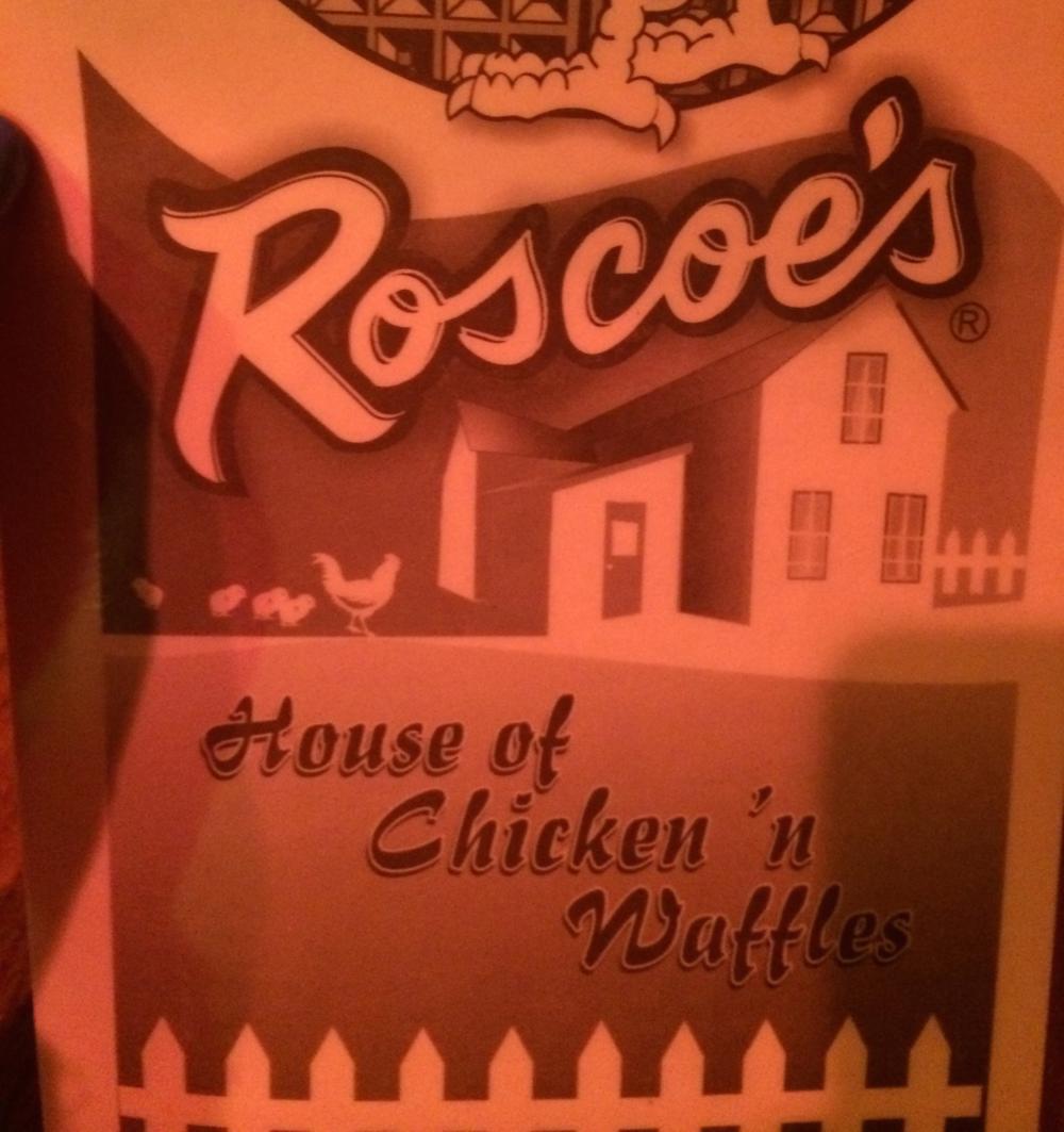 Dinner at Roscoe's - Delish.