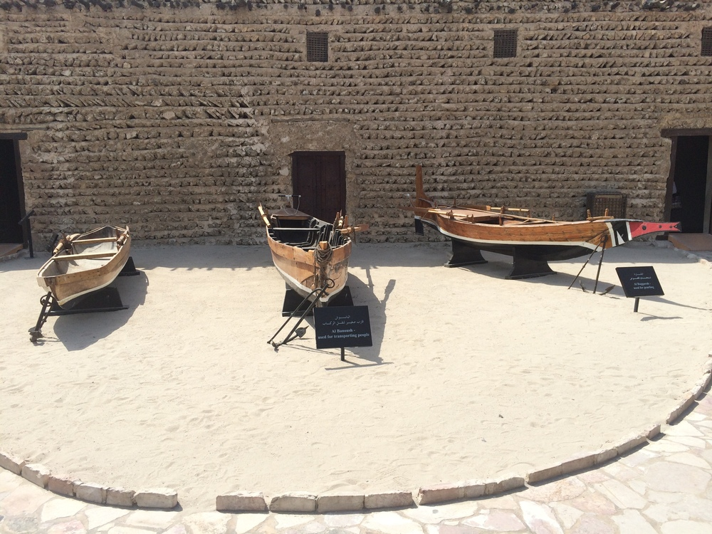 Dubai Museum was across the street from the Hotel.