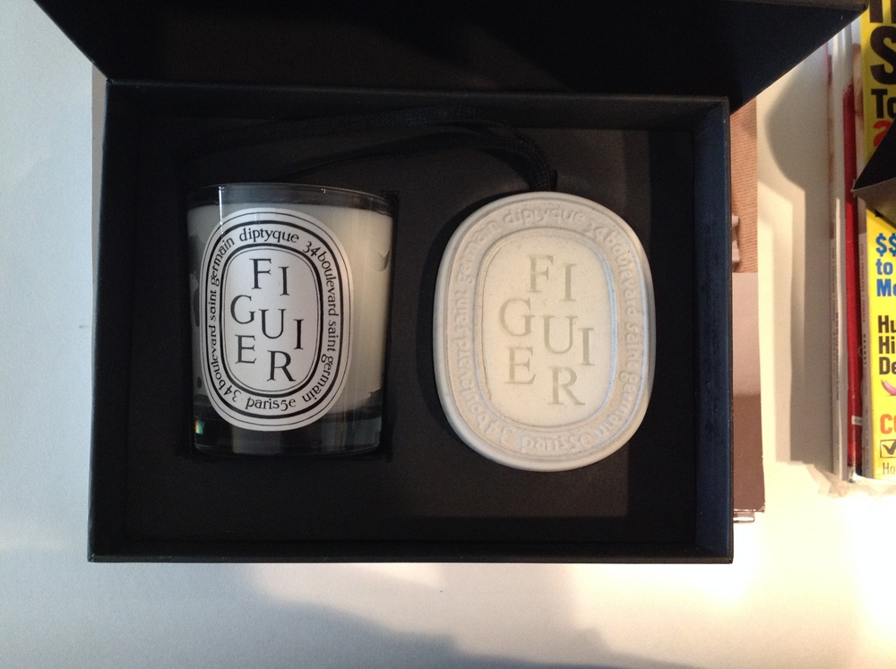 9. Most Thoughtful Gift - Diptyque Figuier Candle Set
