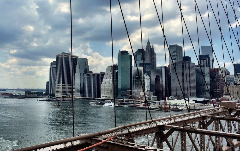 Brooklyn Bridge. Free in NYC