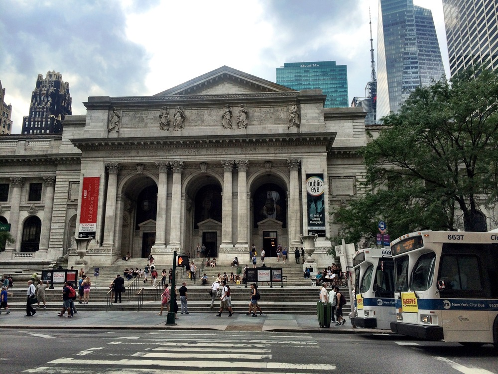 NYPL. Free in NYC