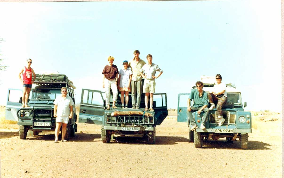 Niger Arlit-Agadez after the infamous Roadblock