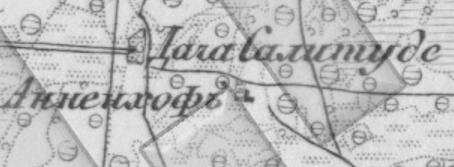 19. gs, trīsverstu Kara karte.