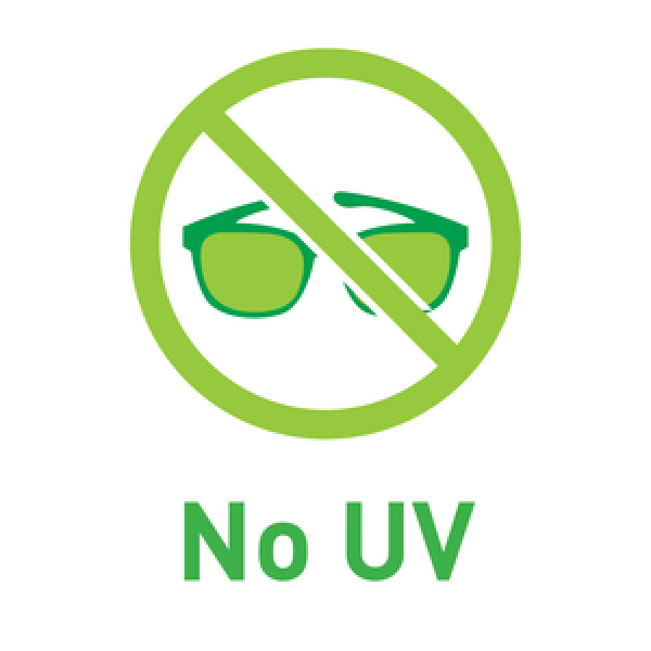 no uv ray, better for health 沒有紫外線,對身體比較健康