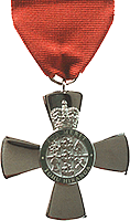 New Zealand Order of Merit medal