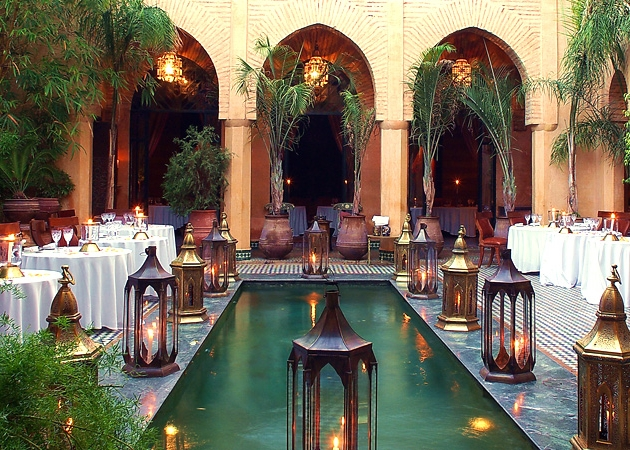 Yacout Restaurant in the medina, Marrakech