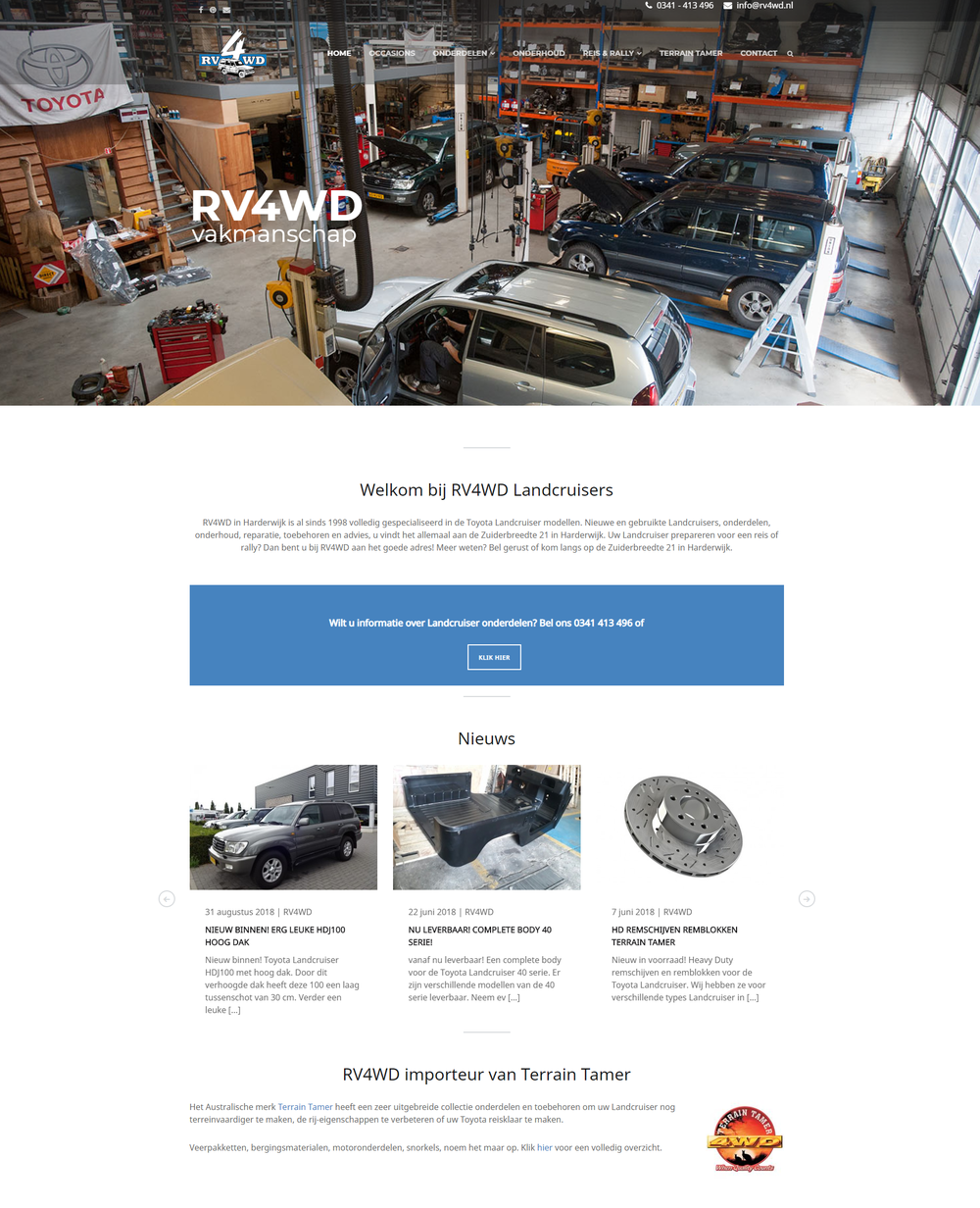 RV4WD Landcruisers