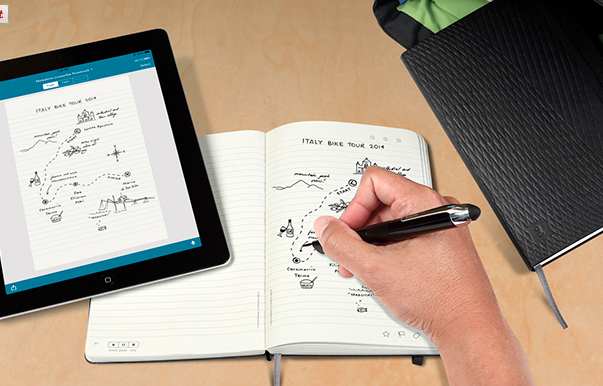 This is something that I need! Smartpen and notebook that work together and makes your notes digitally.