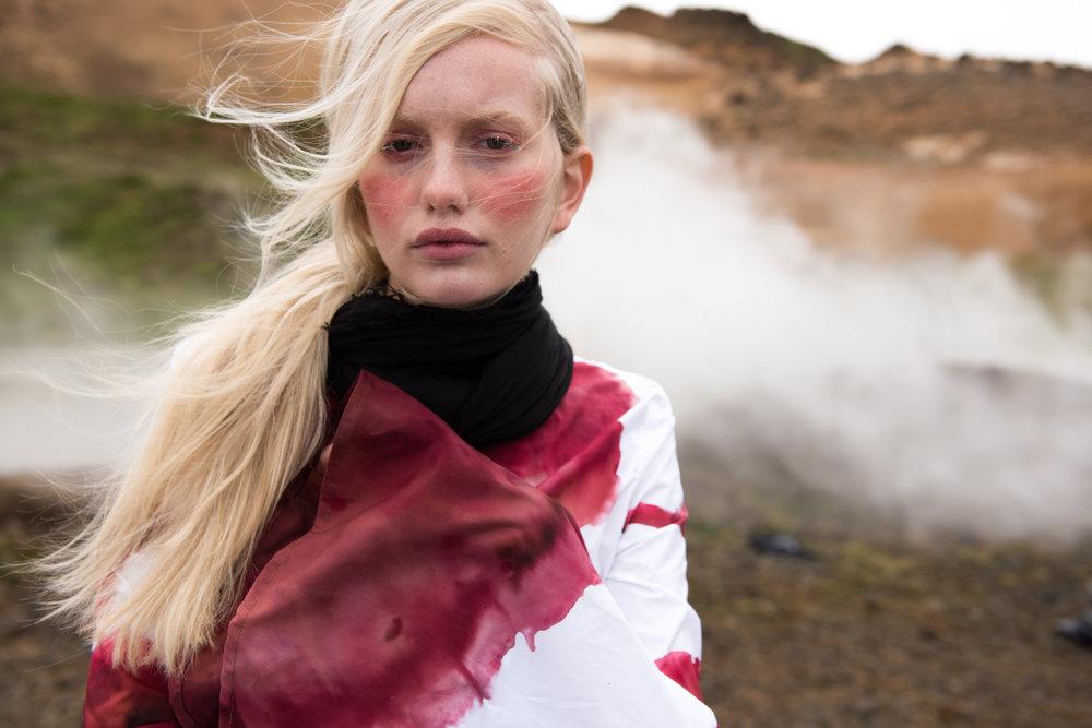 My design captured in Mastered Iceland 2016 by photgrapher  Genevieve Stevenson