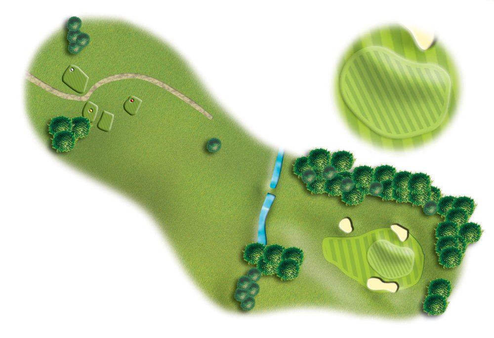 Hole 16, Peebles Golf Club