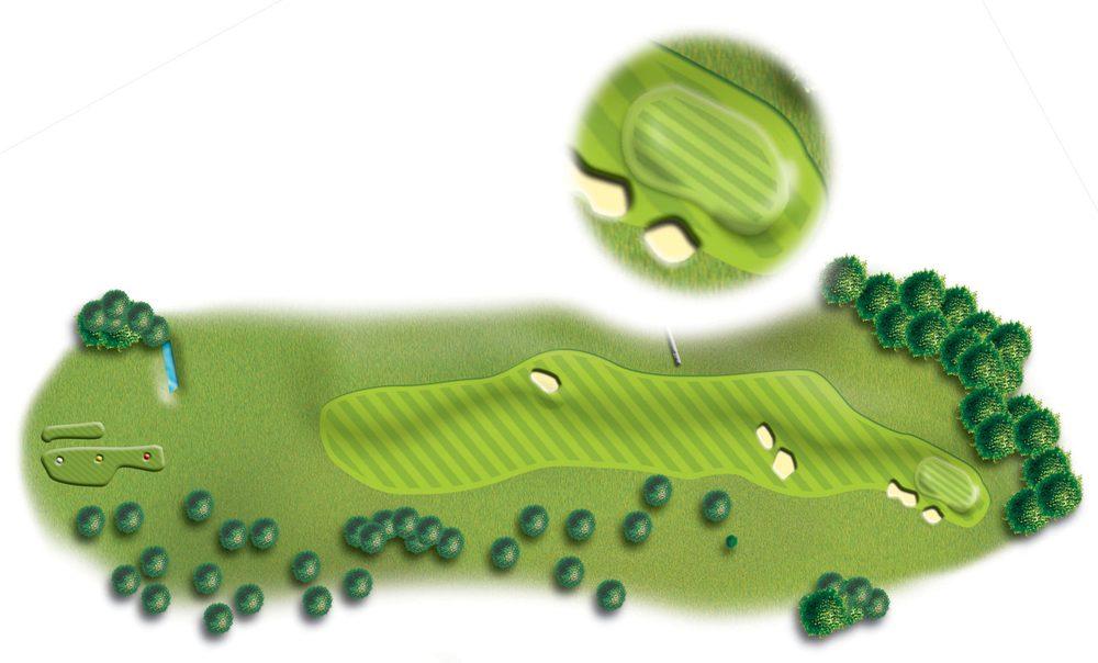 Hole 5, Peebles Golf Club