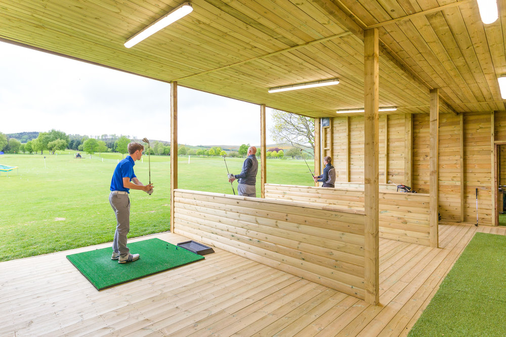 our new indoor driving range