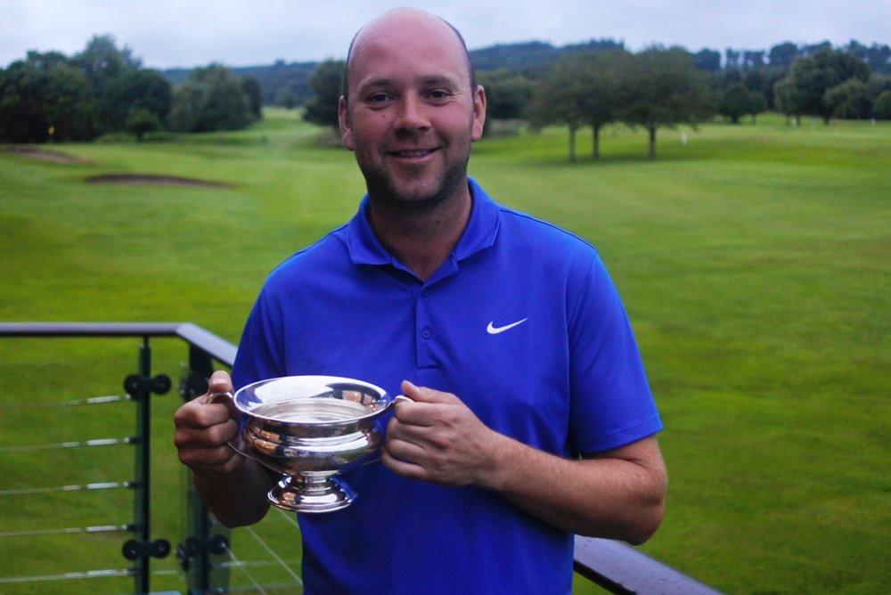 Peebles Open Champion Jamie Morris