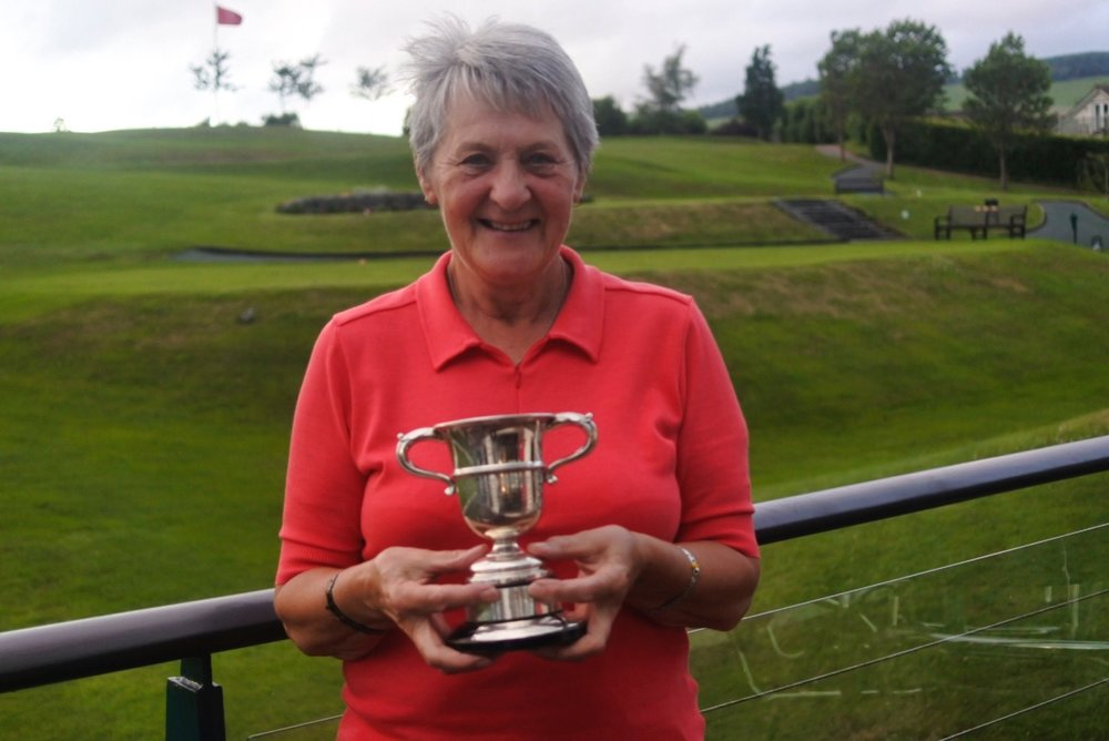 Sheila cuthbertson won the ladies club championship for the 20th time