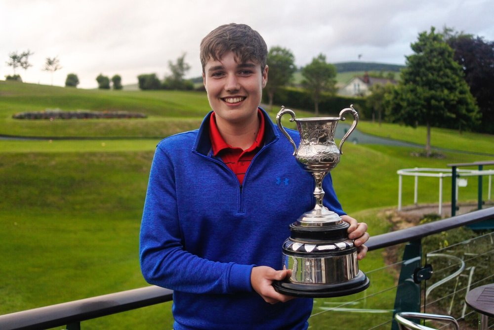 FEARGHAS LOWTHER - JUNIOR CHAMPION