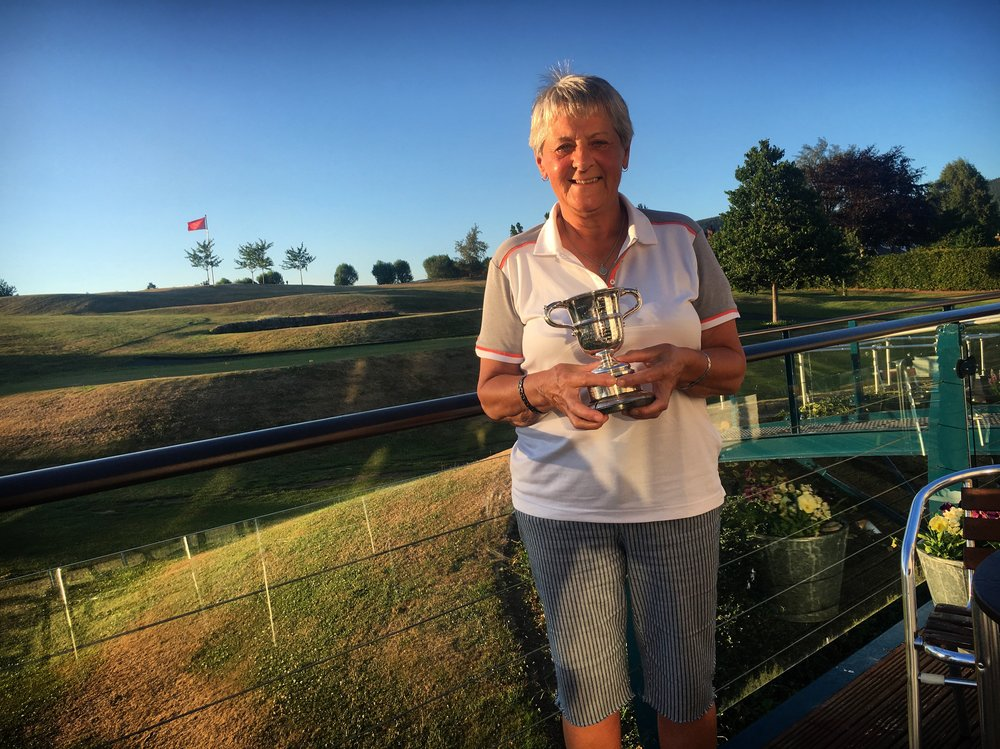 Sheila Cuthbertson clinched her 21st championship title with a win over June Ann Clark