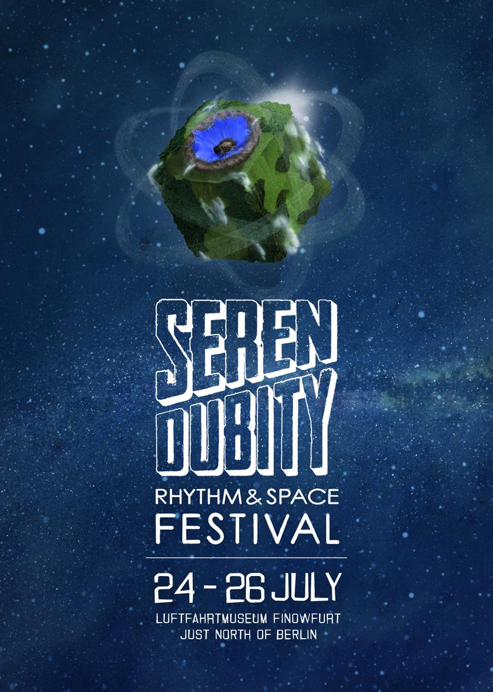 Serendubity - Rhythm & Space Festival - 2015 - Flyer - Front.jpg