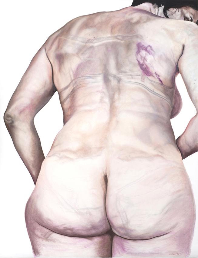 beyonce - 2013  195cm x 150cm  chalk pastel