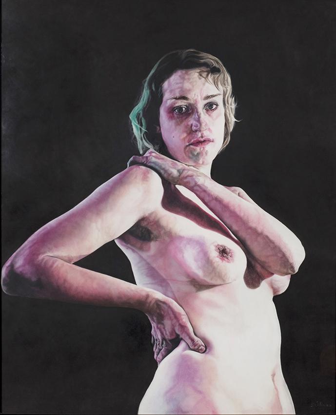 julia - 2011  150cm x 120cm  chalk pastel