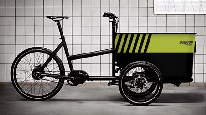 SUSTAINABLE   - Vans bring parcels to micro-consolidation centres along perimeter of  congestion zone (avoiding charges and emissions in Central London) - Electric cargo bikes are used for the last mile